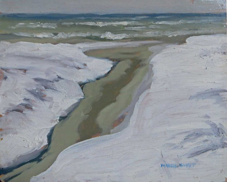 Winter Antrim Creek 8x10